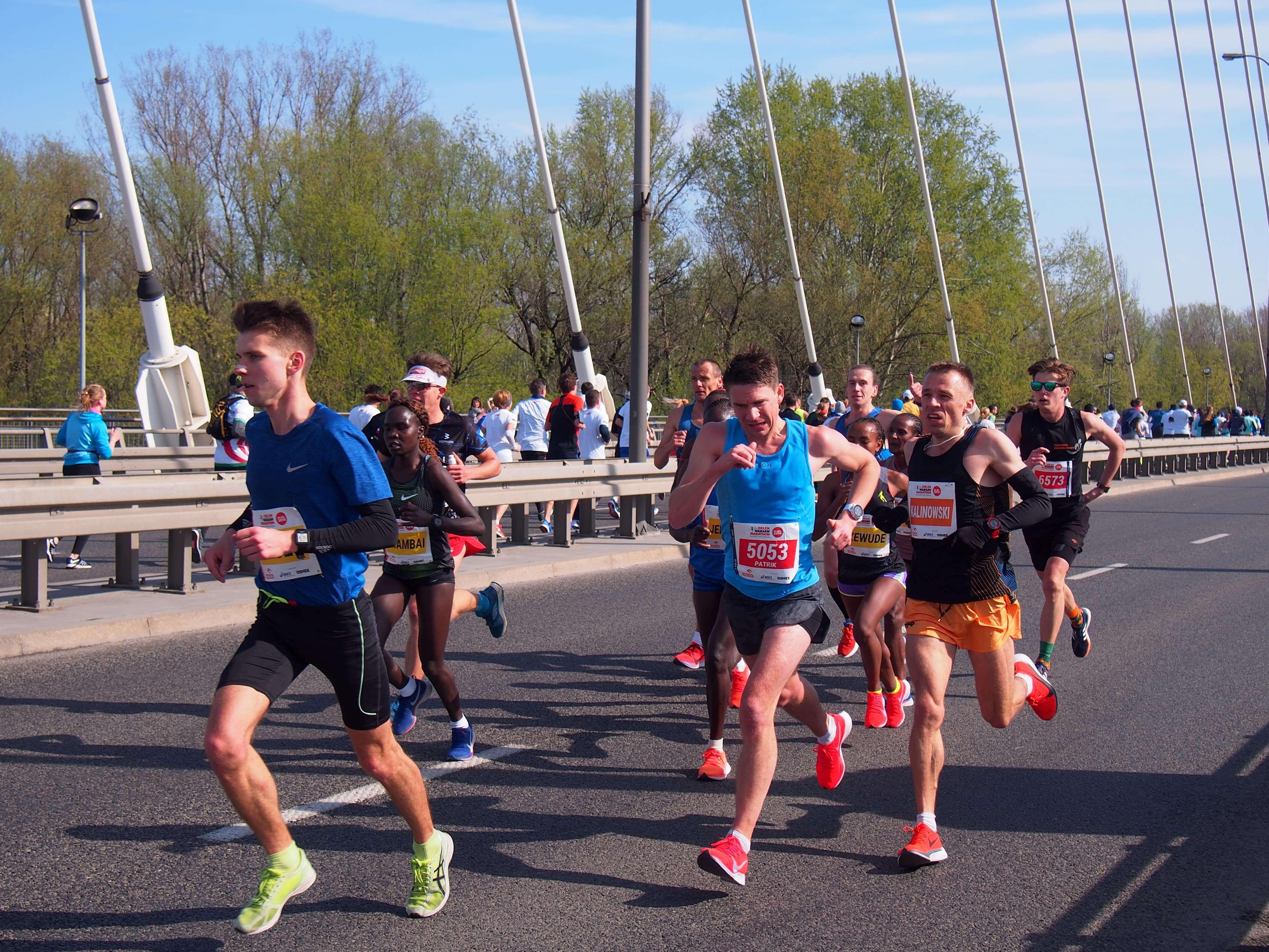 Orlen Maraton - most Świętokrzyski